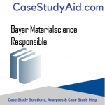 BAYER MATERIALSCIENCE RESPONSIBLE